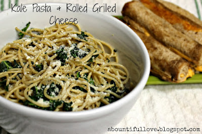 http://www.abountifullove.com/2014/01/meatless-friday-kale-pasta-rolled.html