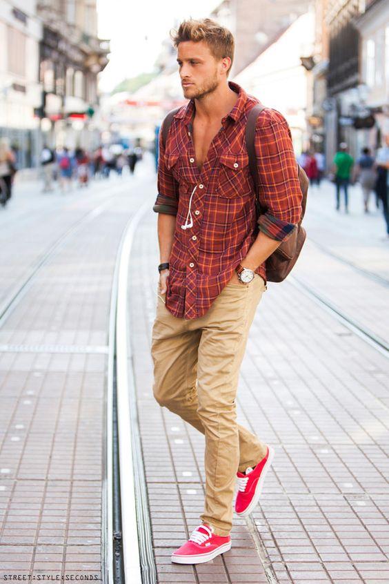 Dicas de Como usar Tênis Vermelho Masculino