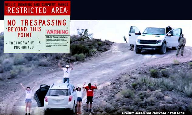Area 51 Family Arrested At Gunpoint Video