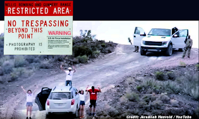 AREA 51 - Family Arrested at Gunpoint