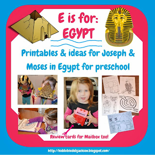 http://www.biblefunforkids.com/2014/01/preschool-alphabet-e-is-for-egypt.html