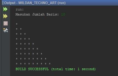 Contoh Penggunaan Nested Loop pada Java