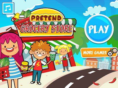 My Pretend Grocery Store – Supermarket Learning Apk+Data Free on Android Game Download