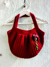 Bolsa Fat Bag a crochet
