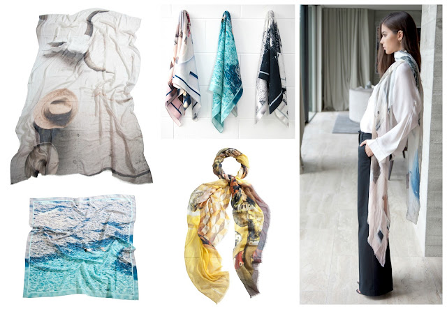 Bird and Knoll scarves