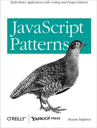 JavaScript Patterns front cover