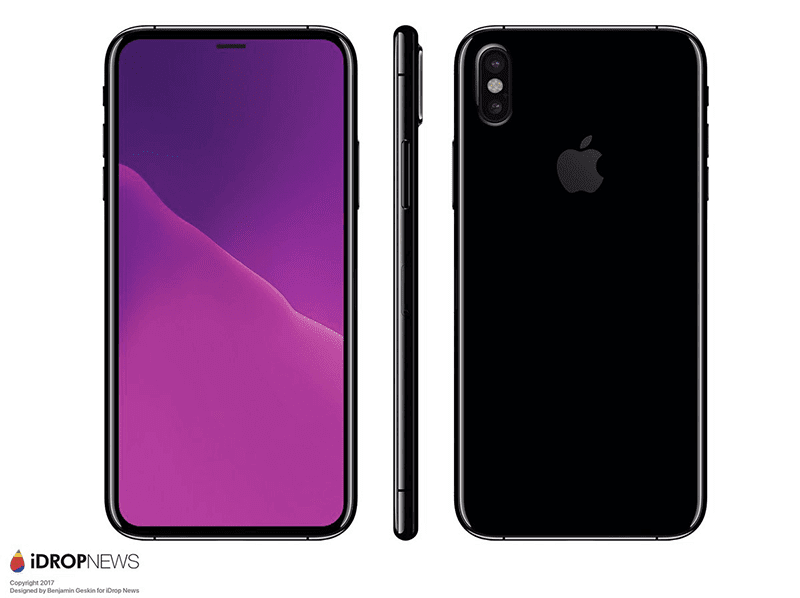 "The ""actual"" iPhone 8 render"