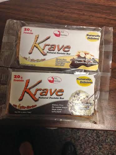 Krave Bars Birthday Cake