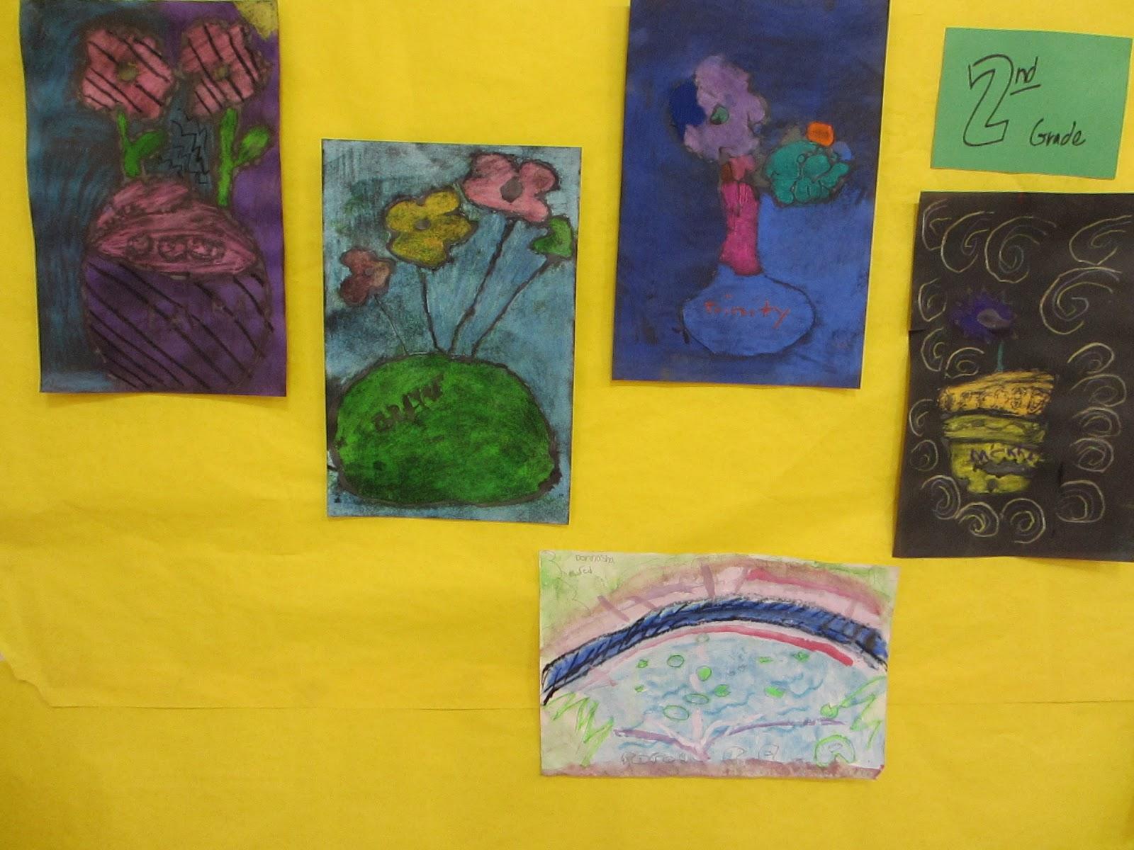 The Primary Colors Lesson Plan Van Gogh Pastel Vases