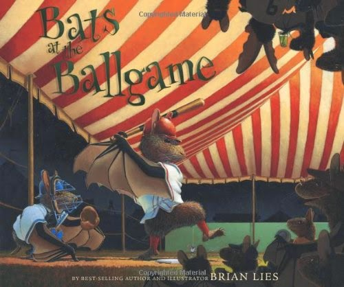 Bats at the Ballgame, part of book review list about the United States