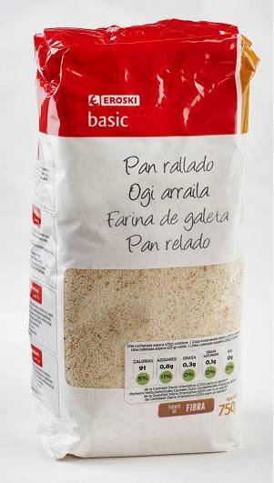 imagen de paquete de pan rallado para rebozar