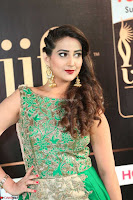 Manjusha in Beautiful Sleeveless Green Anarkali dress at IIFA Utsavam Awards 018.JPG