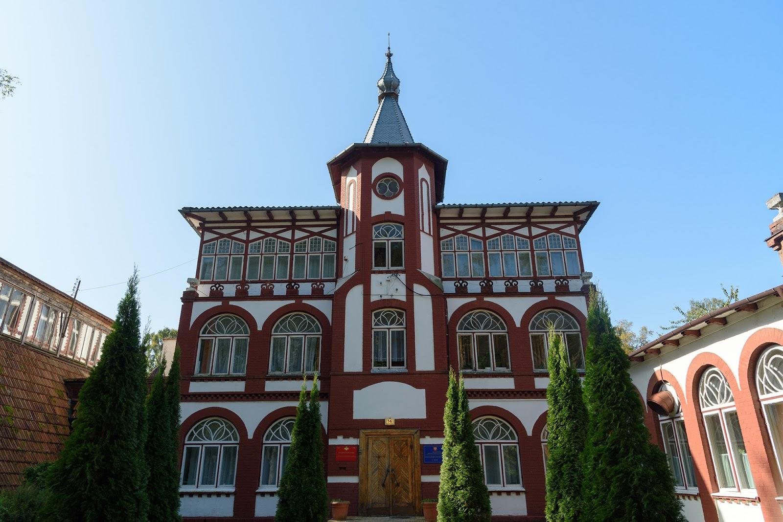 Исторические здания в Светлогорске