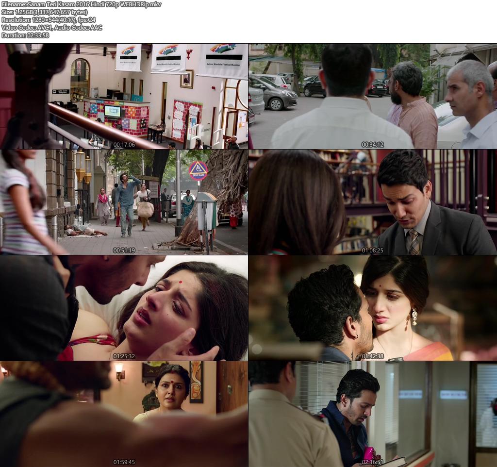 Sanam Teri Kasam 2016 Hindi WEB HDRip 720p | 400MB 480p | 200MB HEVC Screenshot