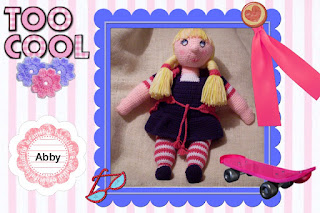 amigurumi crocheted doll pattern