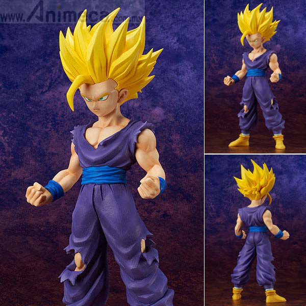 Figura Son Gohan Super Saiyajin 2 Gigantic Series Dragon Ball Z PLEX