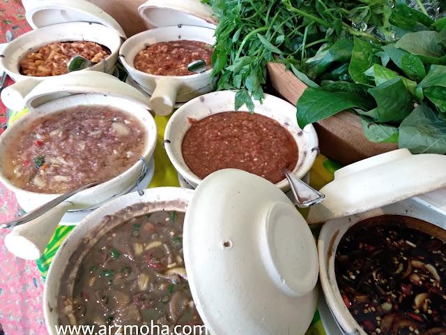 sambal belacan, budu, sambal magga, menu buffet ramadhan vistana hotel penang, buffet ramadhan vistana hotel 2018, menu berbuka buffet ramadhan 2018, 101 resipi tok wan menu tradisional melayu,