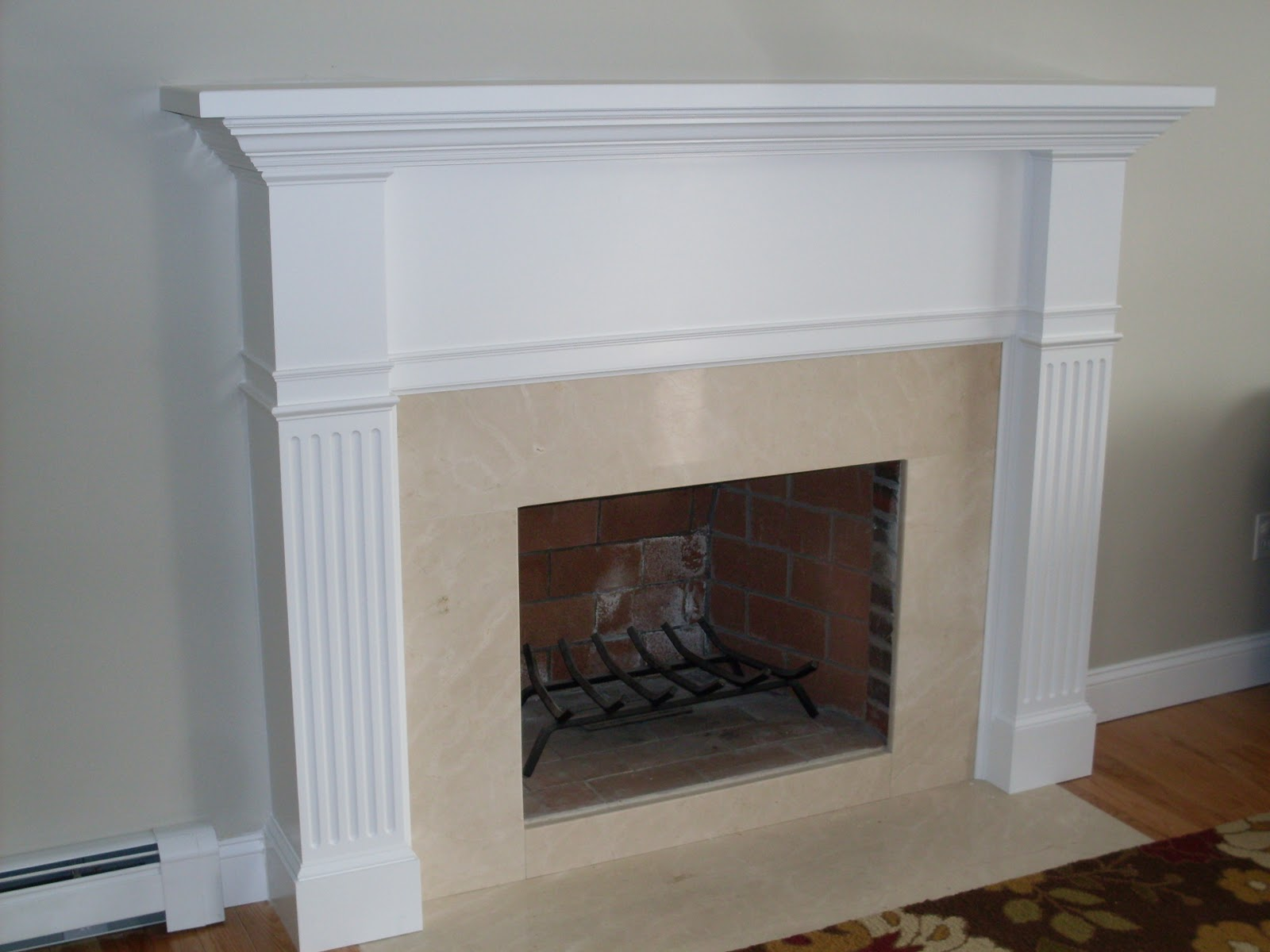Custom Fireplace Mantel: Kristin's Fireplace Surround