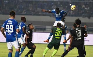 Persib Bandung vs PSIS Semarang 1-0 Liga 1 Minggu 8 Juli 2018. Stadion GBLA
