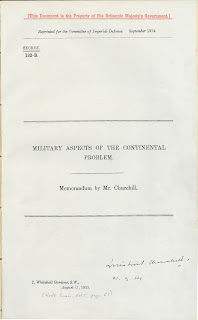 Cover page - Military Aspects of the Continental Problem