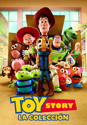 Toy Story Coleccion DVD R1 NTSC Latino + CD