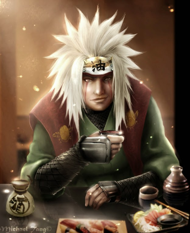 Jiraiya 3D Wallpaper