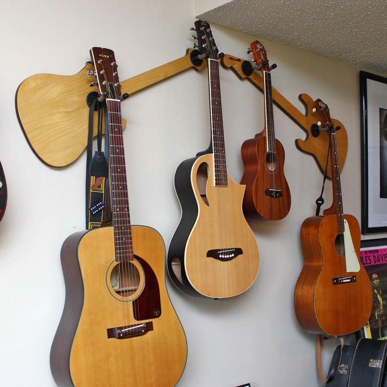 wall axe custom guitar hangers. Black Bedroom Furniture Sets. Home Design Ideas