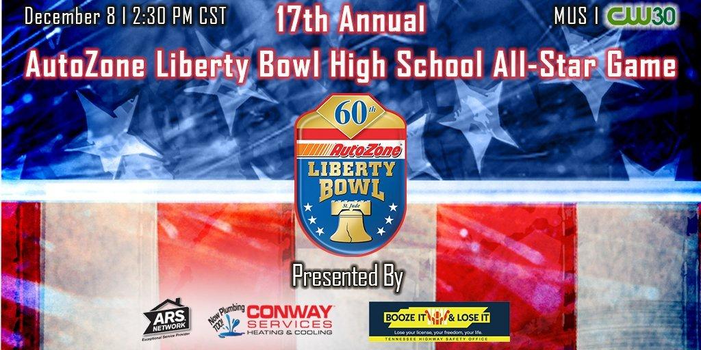 AutoZone Liberty Bowl High School All-Star Game football ...