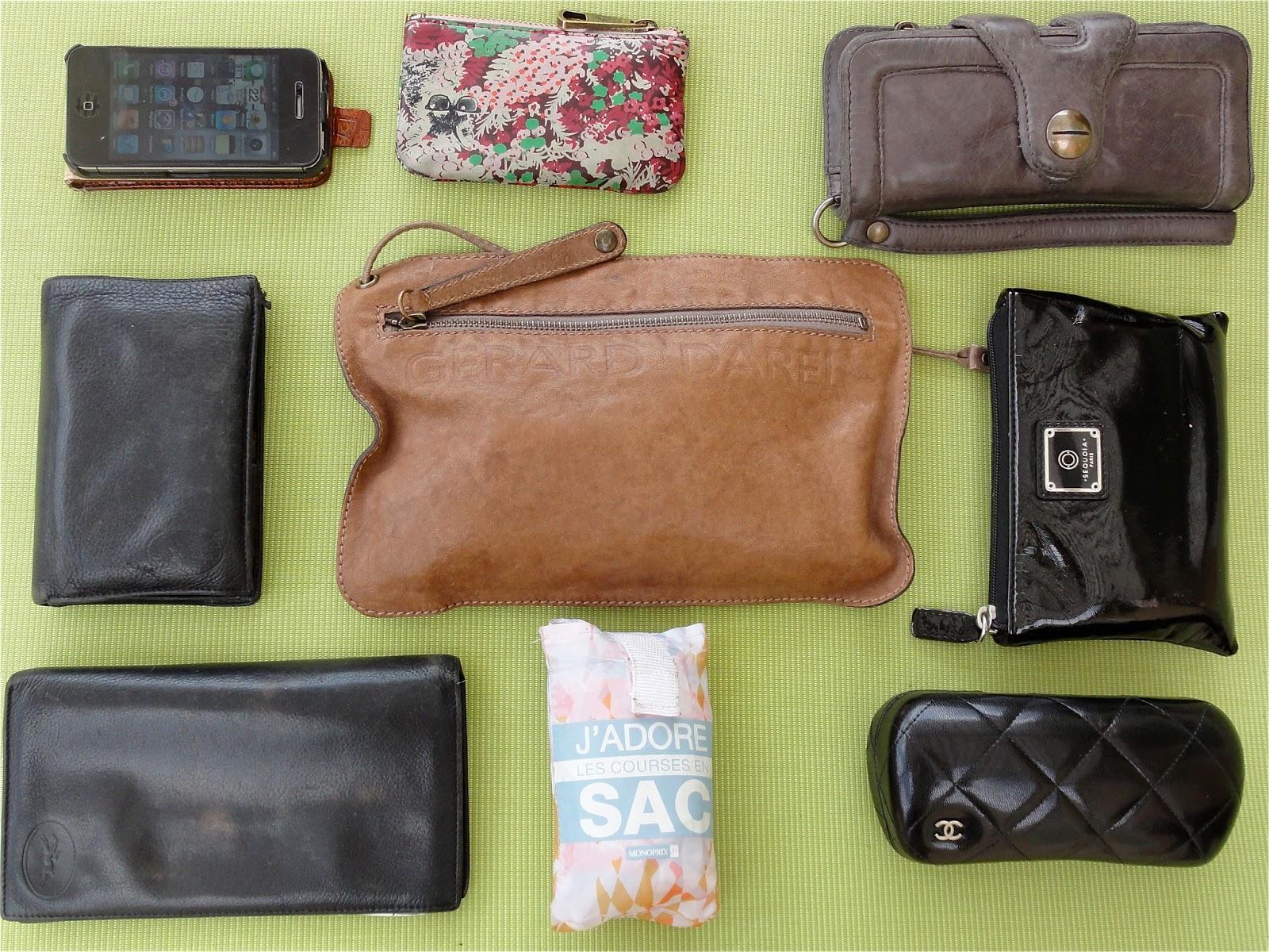 f66abe0bf9 Bon c'est à l'image de ma valise me direz vous! En fait dans mon sac il y a  surtout des pochettes, comme ça changement de sac plus rapide que mon ombre!
