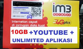 Paket internet Murah indosat 10 GB
