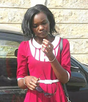 Mbwa, Ghasia Taka-Taka Wewe! LUO LADY insults UHURU KENYATA badly over MIGUNA's deportation