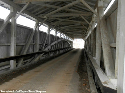 Banks Covered Bridge in Lawrence County Pennsylvania