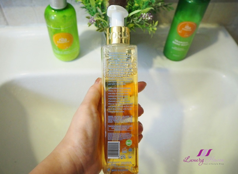 miracle water reviva eau micellaire ingredients