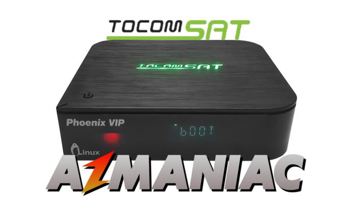 Tocomsat Phoenix HD VIP Atualização V1 023 - 15/05/2017 | AzManiac