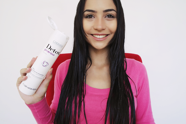 Linha Detox Cadiveu cabelos proteina
