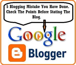 Blogger, Blog, Fix Issue, Blogging Mistake, Tips To Fix, Tips