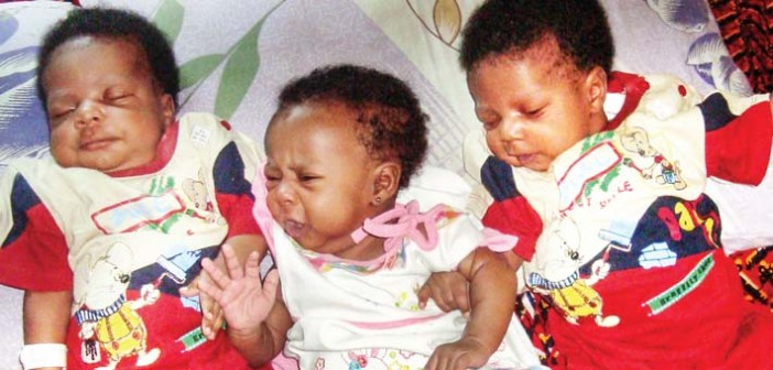 triplets mother dies luth