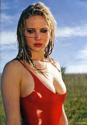 foto Jennifer Lawrence merah
