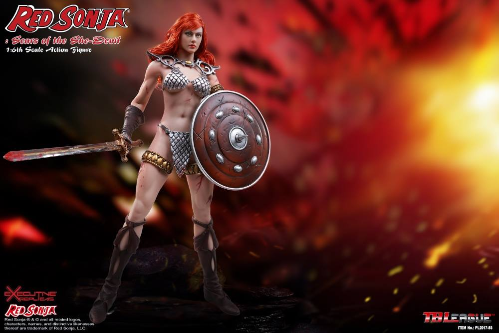 PHICEN - Red Sonja: Scars of the She-Devil  12a