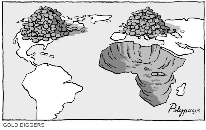 Η ανατροπή του Καντάφι άνοιξε το δρόμο για δυτικές αποικίες στην Αφρική
