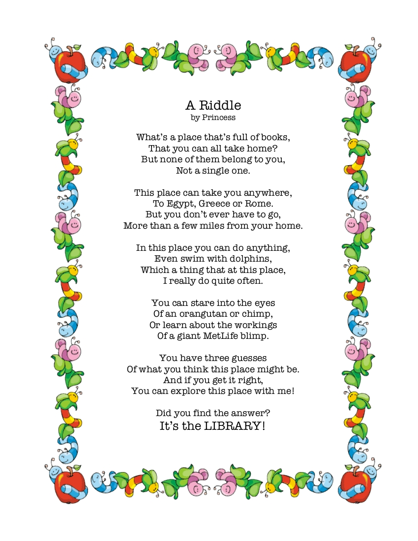 The Princess and the Tot Poem by Princess