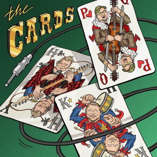 THE CARDS feat. Saxon's Paul Quinn - The Cards (2019) full