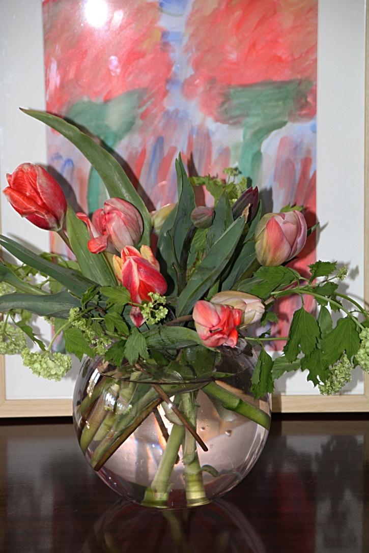 Gefranste Tulpen Zum Karfreitag
