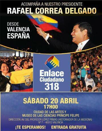 Cadena Sabatina 318 Valencia España
