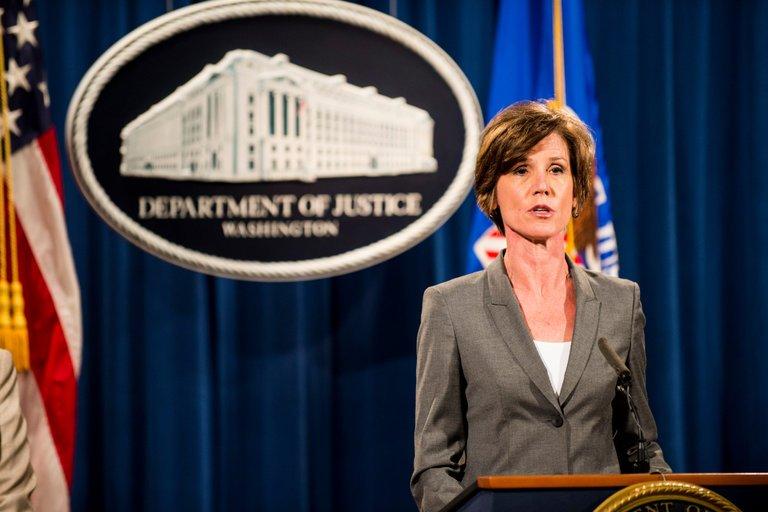 donald trump sacks us attorney general