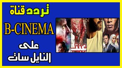 تردد قناة بى سينما bcinema لأبرز الأفلام العربية على قمر النايل سات