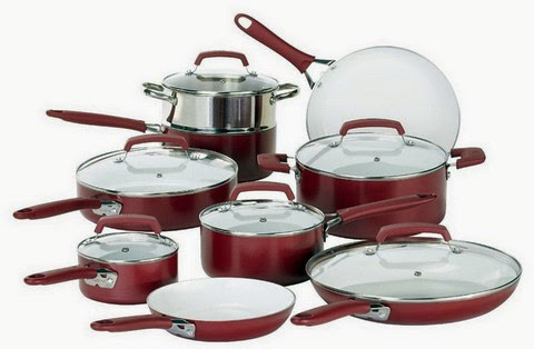 WearEver Nonstick 15-Piece Cookware Set