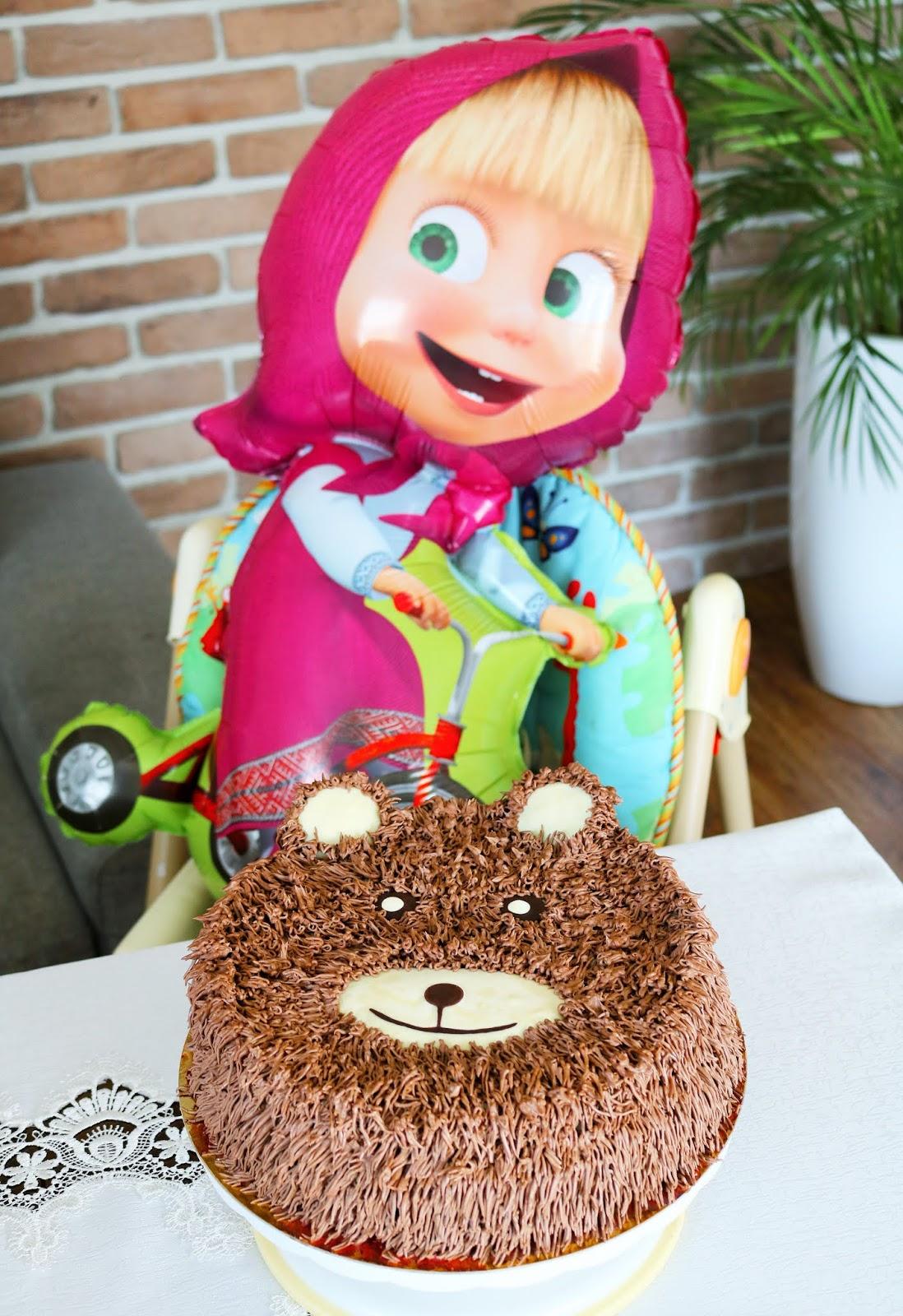 tort dla dzieci masza i niedźwiedź