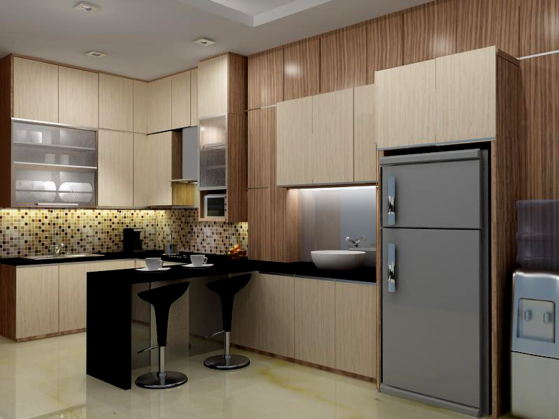 Desain Dapur Basah Dan Kering  Desainrumahidcom