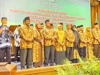 KUA dan Keluarga Sakinah Teladan Tingkat Jawa Tengah Th. 2016 Dikukuhkan
